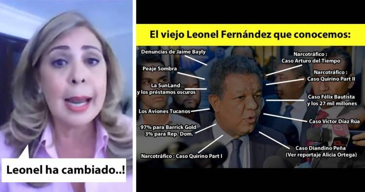 Video: Sergia Elena dice que Leonel Fernández ha cambiado