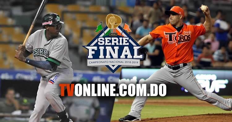 Estrellas y Toros Transmisión en vivo   Serie Final 2019