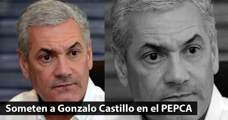 Someten a Gonzalo Castillo en el PEPCA