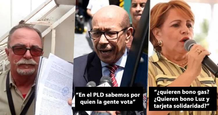 Somos Pueblo deposita denuncia formal contra delitos electorales de Temo Montás y Lucía Medina
