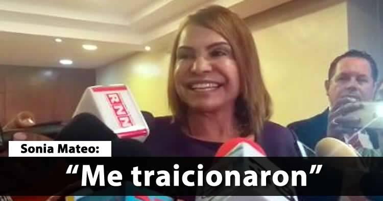 Video: Sonia Mateo reaparece y dice que fue 'traicionada'