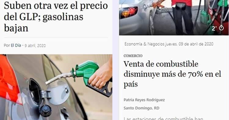 Suben otra vez el precio del GLP; gasolinas bajan