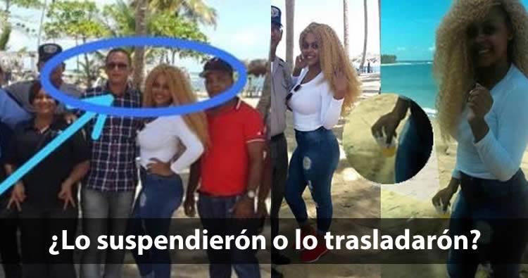 Suspenden alcaide cárcel Higuey tras foto viral en la playa con reclusa