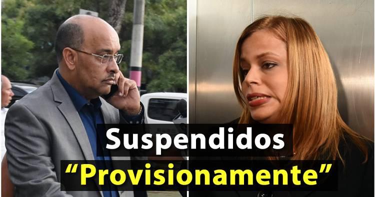 Suspenden 'provisionalmente' fiscal SPM y titular unidad de violencia de género por caso Anibel González