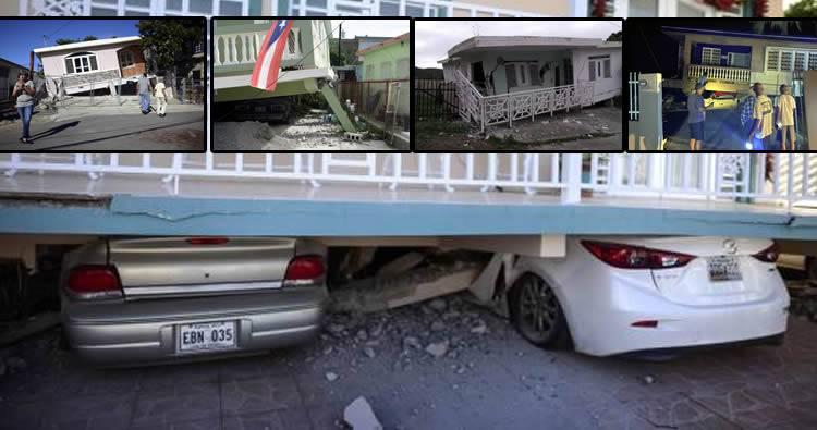 Un sismo vuelve a remecer Puerto Rico