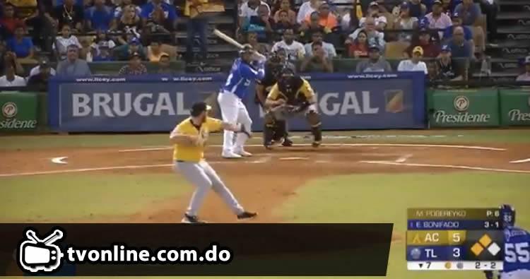 Video: Tigres del Licey derrotan a las Águilas Cibaeñas
