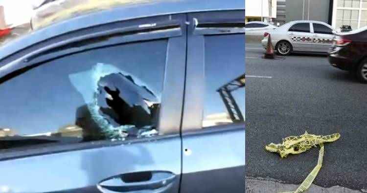 Video: Tirotean pareja en la 27 de Febrero entre Tiradentes y Ortega Gassett