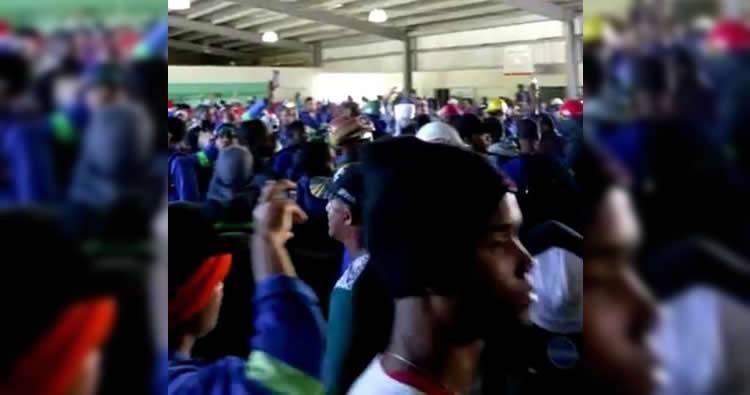 Trabajadores de Punta Catalina se movilizan en la empresa
