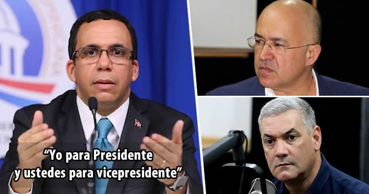 Andrés Navarro ofrece vicepresidencia a Gonzalo Castillo o Domínguez Brito