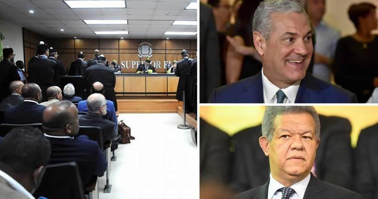 TSE rechaza petición de Leonel Fernández para impedir proclamación de González Castillo