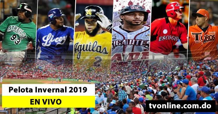 Ver Pelota Invernal Dominicana 2019 en vivo