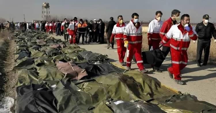 Ucrania no descarta que el Boeing 737 fuera derribado en Irán por ataque terrorista