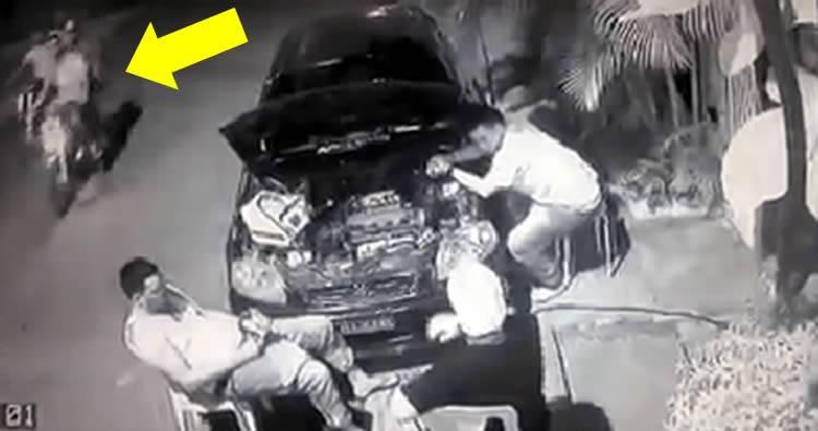 Video: asaltan a director Policía Municipal de Haina