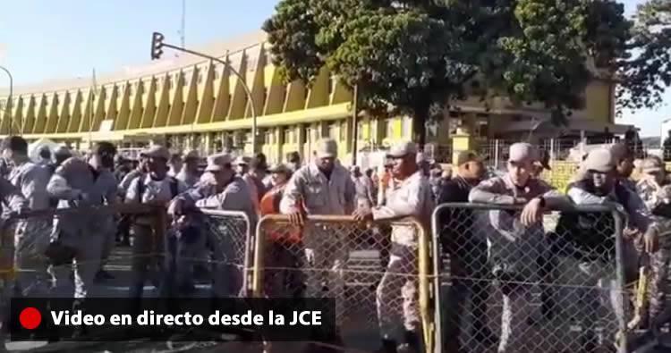 Video en vivo desde la Junta Central Electoral (JCE)