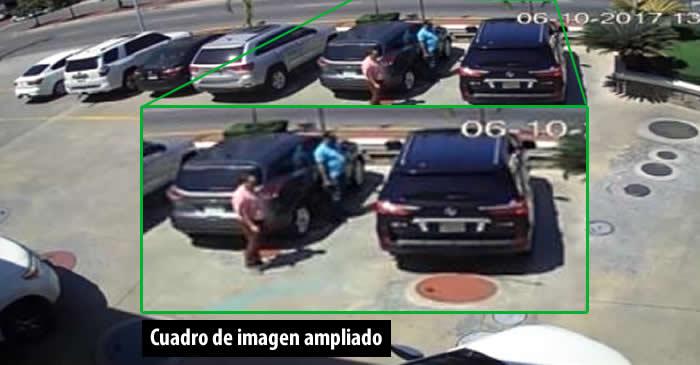 Video muestra supuesta entrega de un millón de pesos a Yuniol Ramírez por Eddy Santana Zorilla