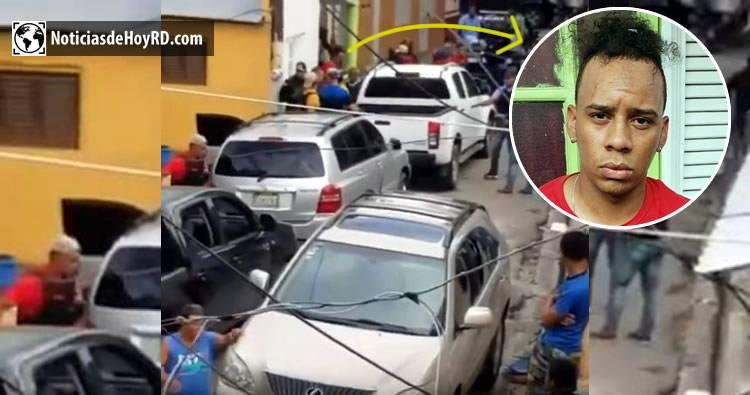 Video: Momento cuando apresan a quien supuestamente disparó a David Ortiz
