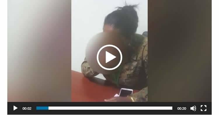 Video Viral de una mujer oficial del Ejército comiéndose un helado podría provocar cancelación