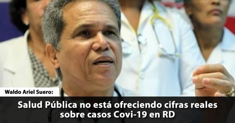 CMD afirma Salud Pública no está ofreciendo cifras reales sobre casos Covi-19 en RD
