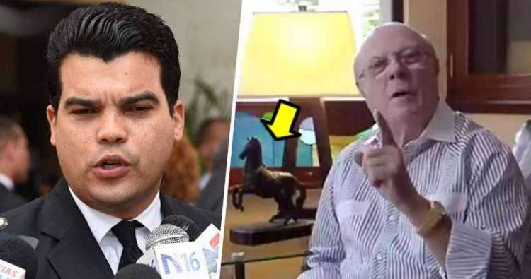 Wellington Arnaud 'de nuevo' pide juicio disciplinario para Hipólito Mejía
