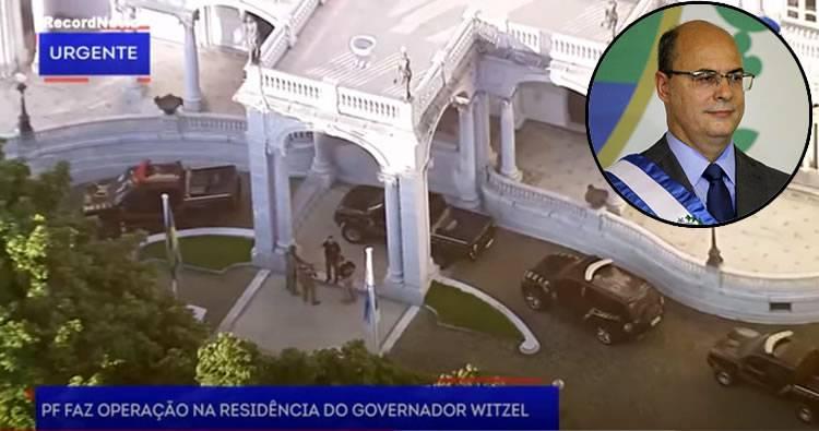 Registran residencia del gobernador de Río de Janeiro por irregularidades en manejo de fondos ante pandemia