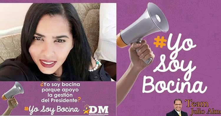 Crean grupo 'Yo Soy Bocina' y 'Porque soy Bocina' en defensa del Gobierno de Danilo Medina