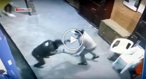 Vídeo: momento en que asaltantes matan guardián
