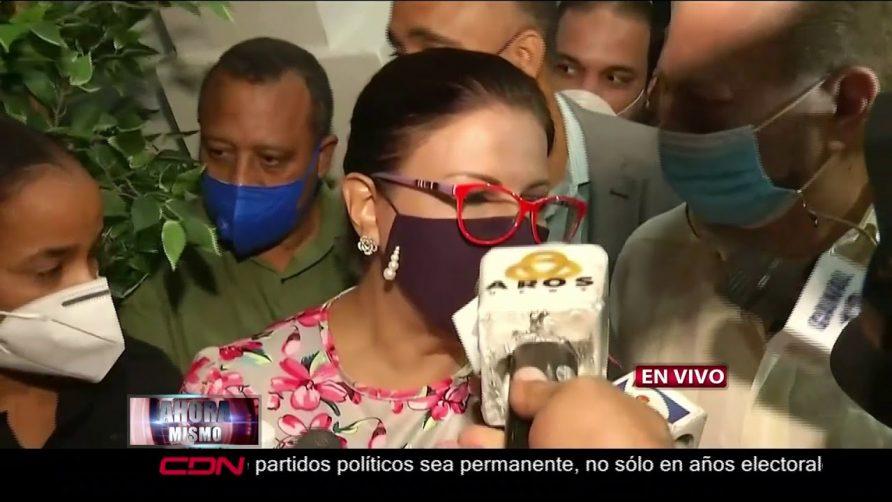 """Margarita Cedeño: """"el Ministerio Público puede investigar a todo el que quiera"""""""