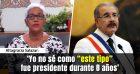 Video: Altagracia Salazar: «Yo no sé como 'este tipo' fue presidente durante 8 años»